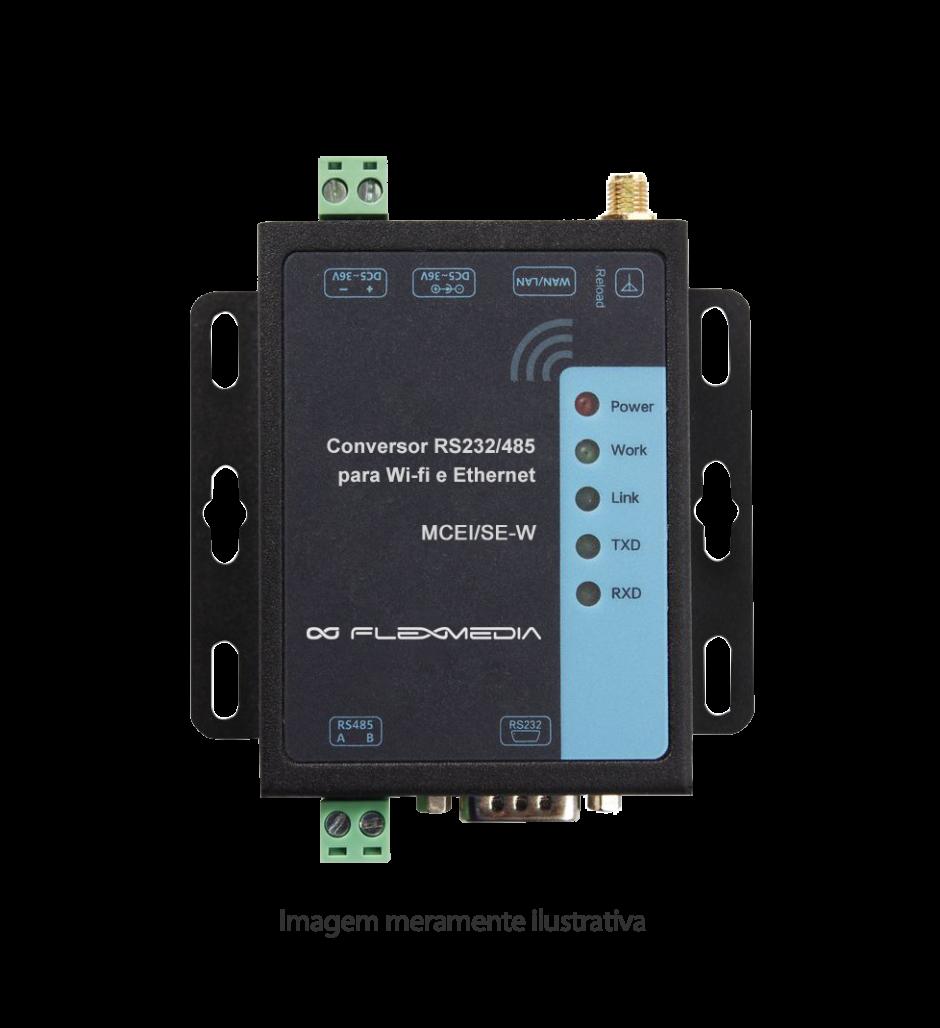 Conversor 232/485 para wi-fi e ethernet