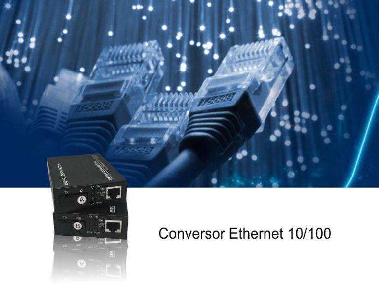 Conversor Ethernet 10/100