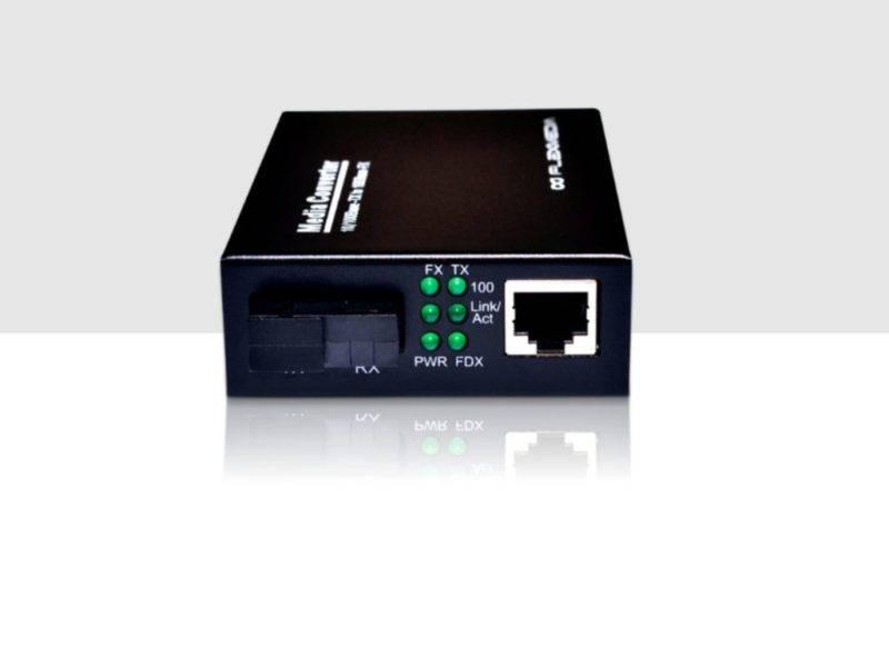 Conversor-de-fibra-óptica-ETHERNET