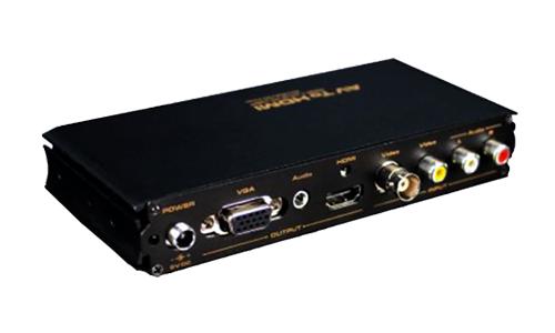Conversor de vídeo composto para HDMI & VGA