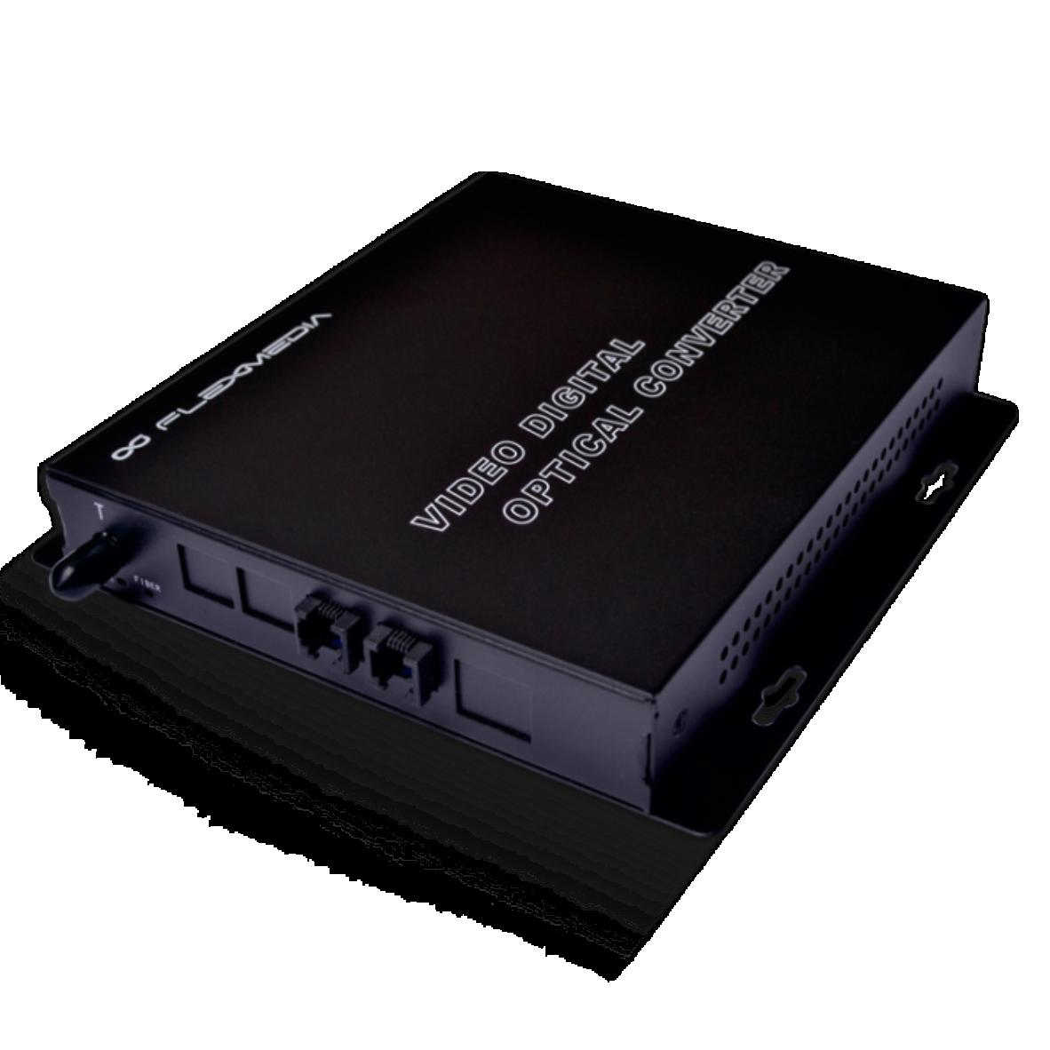 Conversor de telefone para fibra óptica