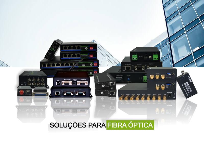 conversores para fibra optica