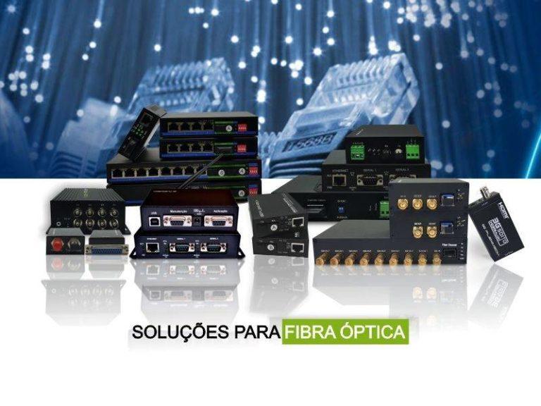 Empresa de conversores para fibra óptica