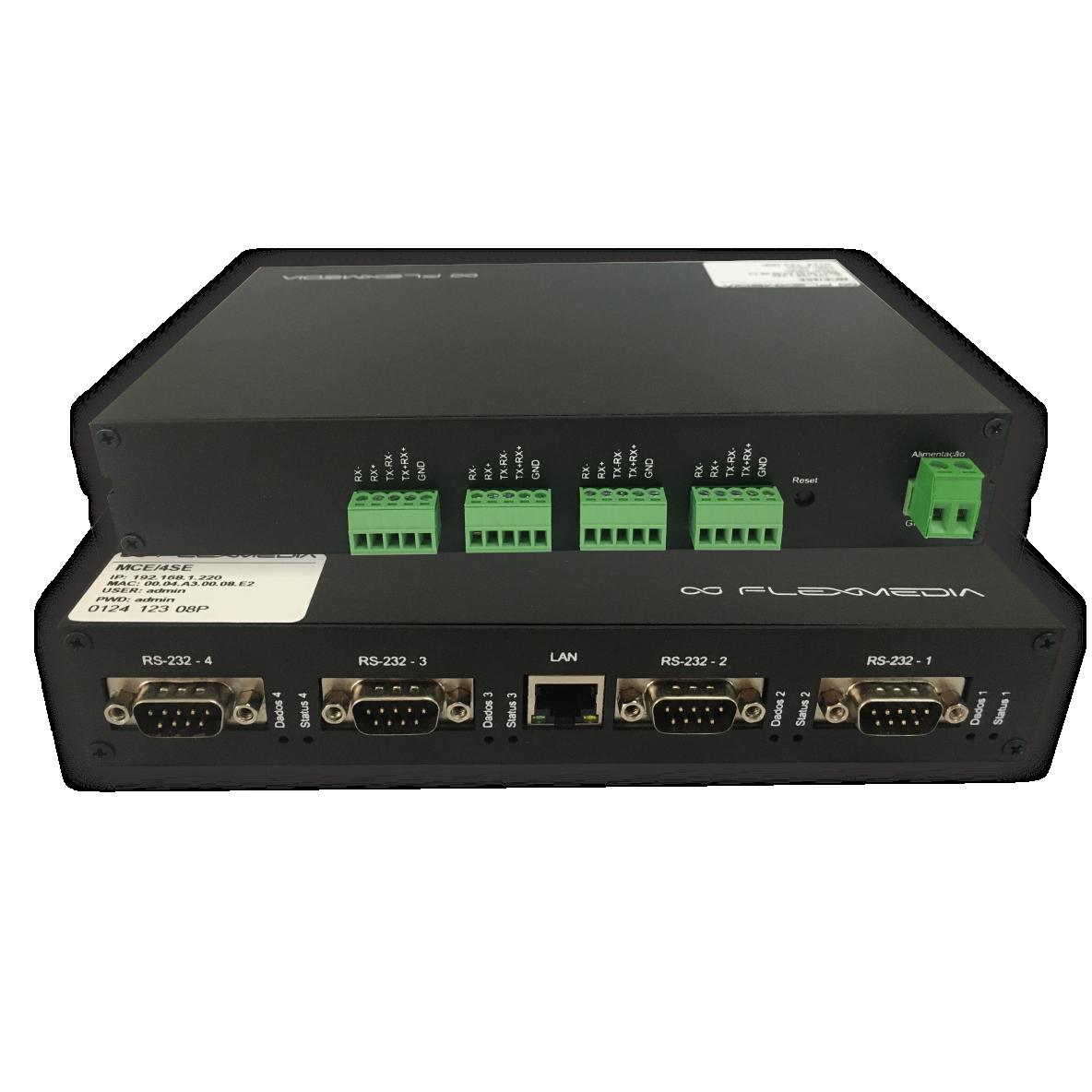 Serial server – 2 ou 4 portas