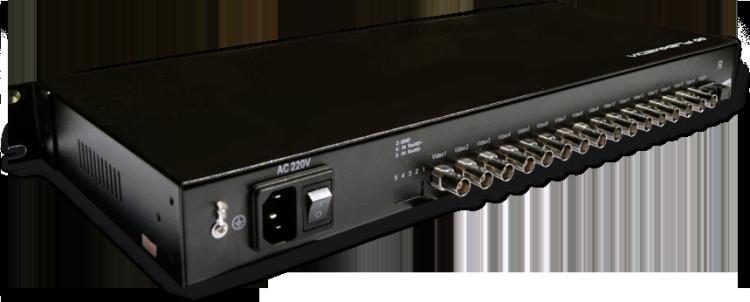 Conversor de vídeo e dados multiplexados