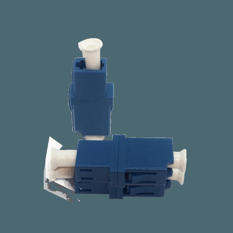 Acoplador e Adaptador Óptico LC/UPC – LC/UPC – SM – Simplex