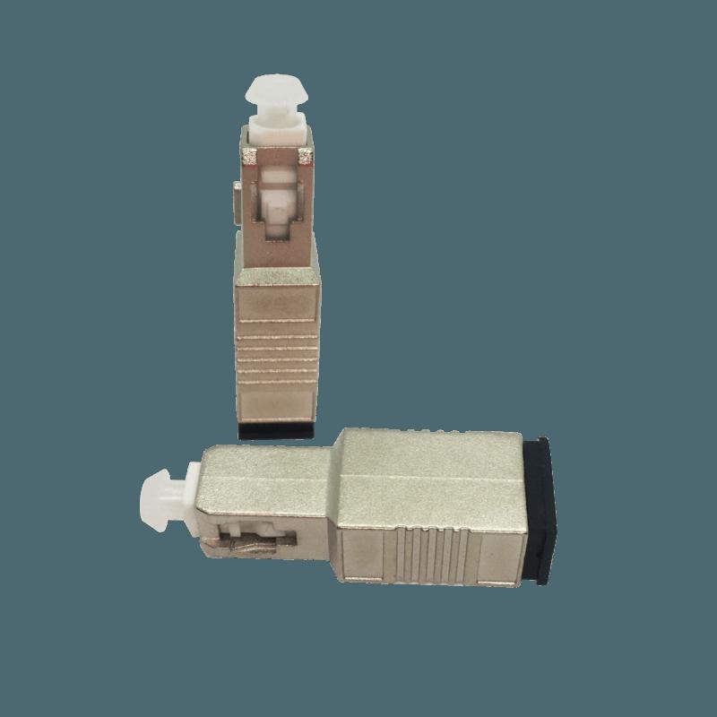Adaptador Óptico SC/UPC – SC – SM – Atenuação de 10db – Simplex