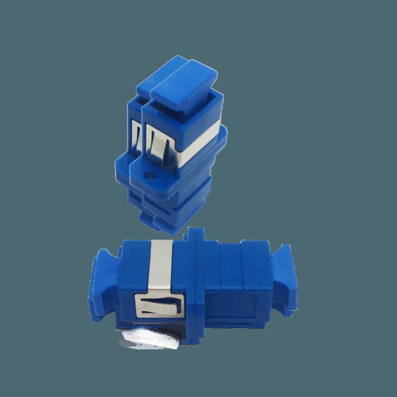Acoplador e Adaptador Óptico SC/UPC – SC/UPC – SM – Simplex