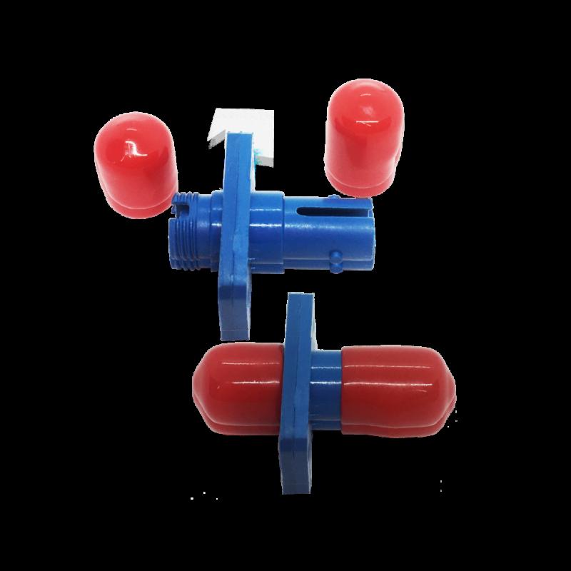 Adaptador Óptico ST/UPC – FC/UPC – SM Simplex