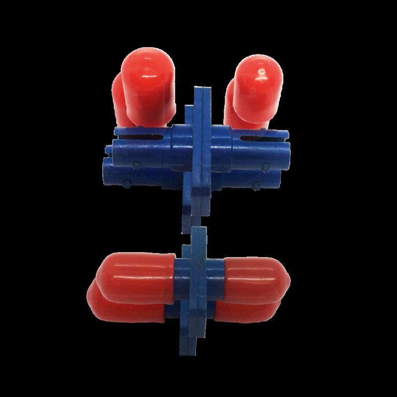 Adaptador Óptico ST/UPC – ST/UPC – SM – Simplex