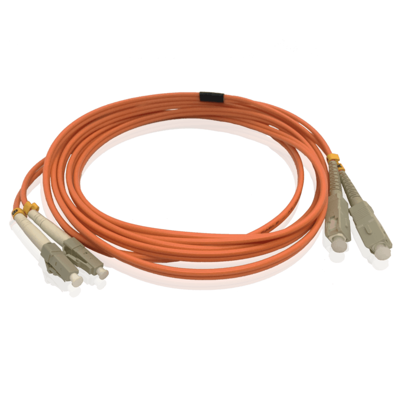 Cordão Óptico Multímodo SC/UPC – LC/UPC – Duplex