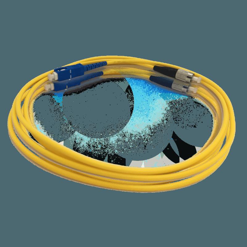 Cordão Óptico Monomodo SC/UPC – FC/UPC – Simplex