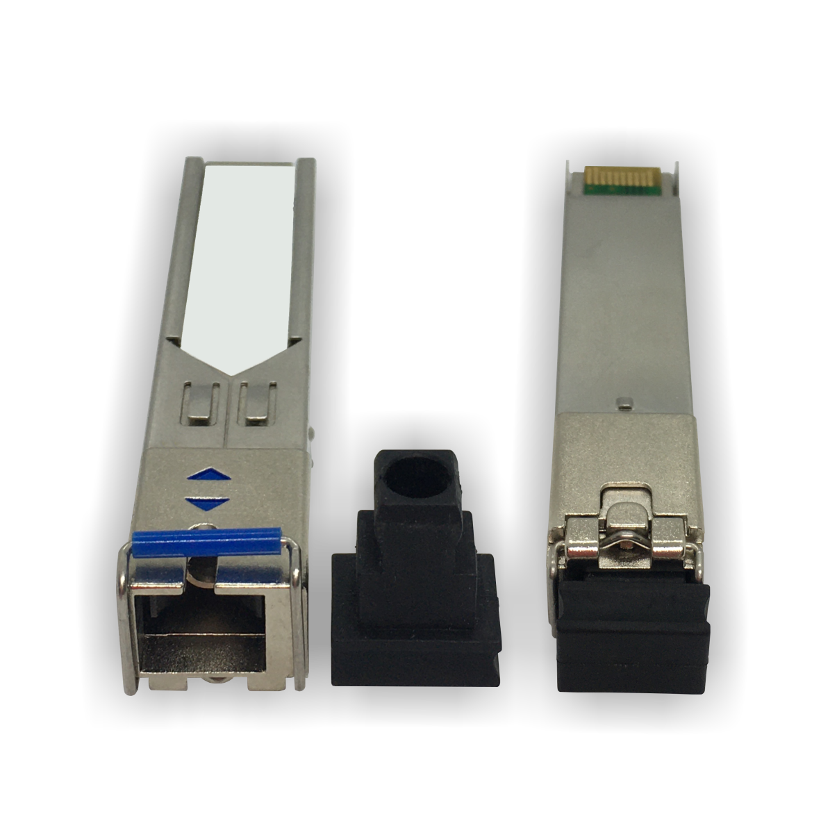Módulo Óptico SFP (Mini GBIC) – Fast Ethernet – Monomodo – Simplex  SC – 20Km (1310-1550)