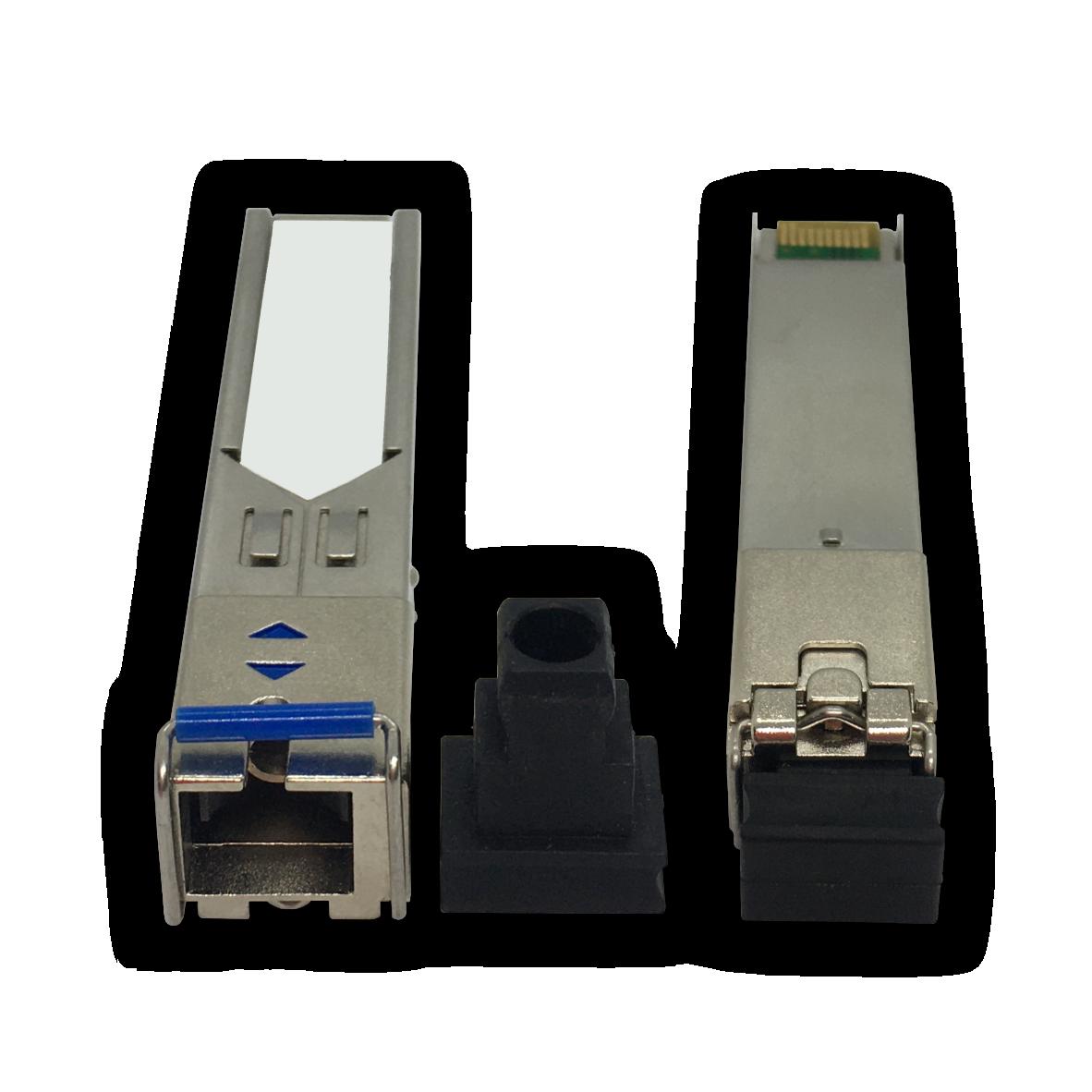 Módulo Óptico SFP (Mini GBIC) – Gigabit Ethernet – Multimodo – Simplex SC – 20Km (1310-1550)