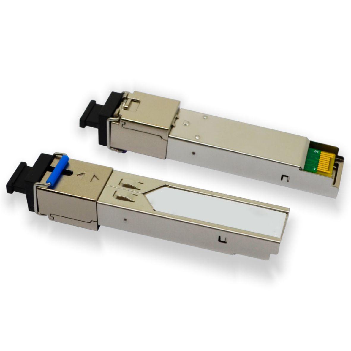 Módulo Óptico SFP (Mini GBIC) – Gigabit Ethernet – Multímodo – Simplex SC – 2Km (1310-1550) – FMP35-1MM2C-SC